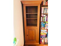 Solid Oak Quality Bookcase