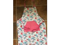 Ladies bib aprons with front pocket, £1 each, or £1.50 for both