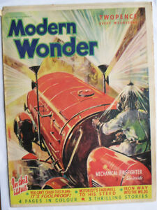 Modern Wonder Magazine no 26 November 13 1937 -