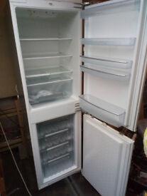 Neff integrated fridge freezer. Built-in