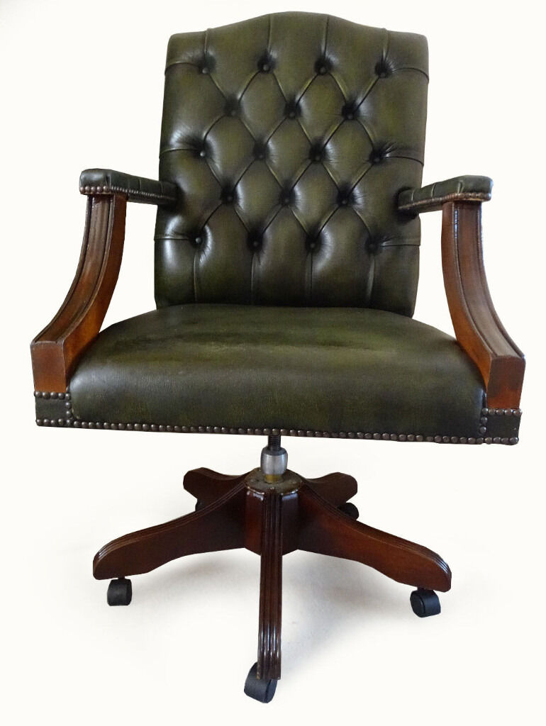 Chesterfield office chair - Image 1 Of 9