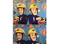 Fireman Sam Fleece duvet set