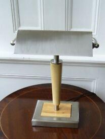 Vintage Bankers Desk Writing Lamp Light