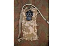British Army Issue DP Desert Camoflague 2.5L Camelbak Hydration System
