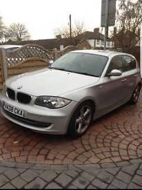 BMW 1 series 120D 08 plate