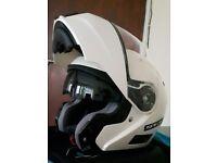 Motorbike helmet full face open face sun visor S