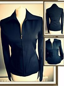 Black Smart Jacket Size 10-12 Mango