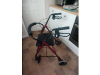 Walking aid/rollater
