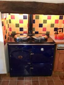 Watson England Oil Fired Range Cooker, Hot Water and Central Heating