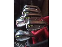brilliant nike vapor speed iron set 4 - pw graphite/fubuki regular shafts