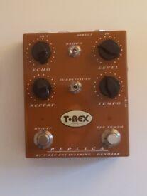 T Rex Replica v2 Delay Pedal, Brand New