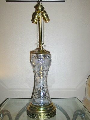 "Vintage Bryant Table Lamp 30""X7""Inches"