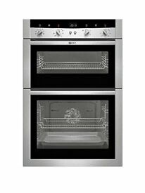 NEFF Built in double oven. with self cleaning capabilities