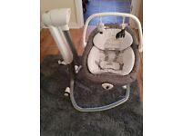 MAINS OPERATED joie baby swing