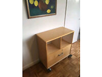 Ikea Filing Unit/ Filing Cabinet with shelves/ storage/ document storage FREE DELIVERY