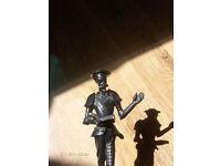 Vintage Russia Don Quixote KASLI cast iron figure