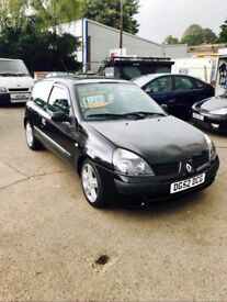 ✅ 2002 Renault Clio 1.4 AUTOMATIC 16v Expression 3dr ✅