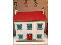 Le Toy Van Doll House and Accessories