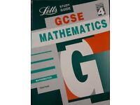 Letts GCSE Mathematics Study Guide - Maths Mathematics books/book – from a smoke free home