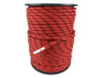 Tendon 10.5 mm Red With Black Fleck Static Rope x 200 Metre Reel, Climbing Rope contact me