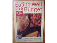 VINTAGE COOKERY BOOK: (1987) paperback Eating Well on a Budget cookery book. ISBN 0-86242-053-9.