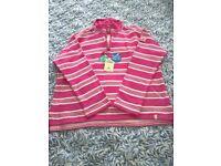 Sea Salt Stripy Sweatshirt