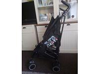 Zeta citi stroller / buggy vgc inc. Raincover