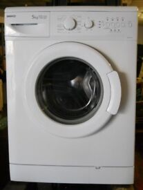 Beko WM5120w washing machine 1200 variable spin 5kg load A+A rated Guaranteed serviced £90