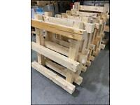 Pallet chunky wood timber DIY project