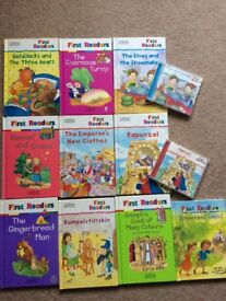 M & S First readers series collection of books - classic tales, some cds