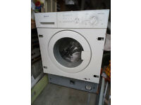 NEFF integrated washing machine. Not working. Spares or repair. Built-in.