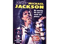 MICHAEL JACKSON MEMORABILIA. Good condition £15:00 ONO.