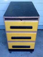 DOUBLE-SIDED VINTAGE TOOL CHEST