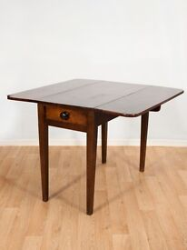 Vintage Dropleaf Table with Cutlery Drawer