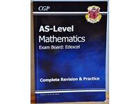 AS Level Mathematics Edexcel Revision Book