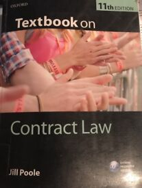 Textbook on Contract Law by Jill Poole (Paperback, 2012)