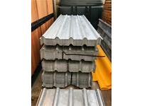 🔩 *New* Galvanised Box Profile Roof Sheets ~ 2.4M
