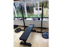 Full Home Gym - OPEN TO OFFERS Weights, Bench, Rack, Pull-up bar etc