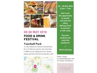 Vauxhall Park Food & Drink Festival - bands required