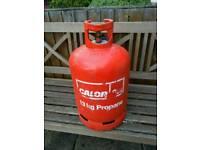 13kg propane cyclinder believed full