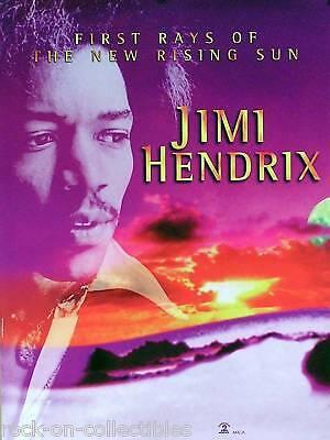 Jimi Hendrix 1997 New Rising Sun Original Promo Poster