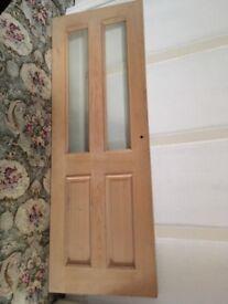 Unused Howdens oak door