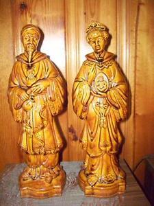 Pair  Ceramics Figurines