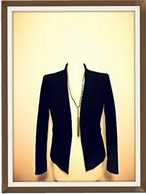 Black Smart Jacket Size 10 Next