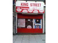 KingStreet Shop TO LET
