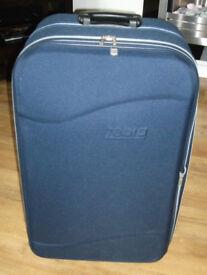 Large Wheeled Fabric suitcase