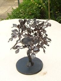 Cute Metal Tree Candle Holder