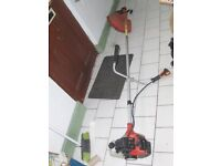 £35 bargain reliable powerful petrol strimmer 52cc 3 yr old new head an full spool , deliver local