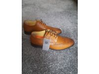 M&S CollectionLeather Brogue Shoes with Airflex™