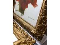 antique still life oil paintings Set Of 2 PIS